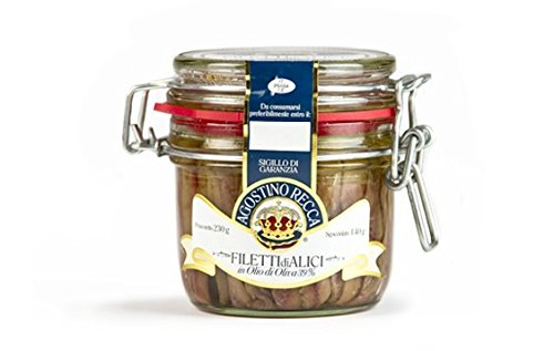 """Agostino Recca"" Fillets of Anchovies 8.1 oz"
