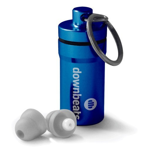 downbeats-reusable-high-fidelity-hearing-protection-ear-plugs-for-concerts-music-and-musicians-blue-