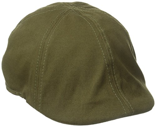 San Diego Hat Co. Men's Driver Hat with Stretch Band, Olive, One Size
