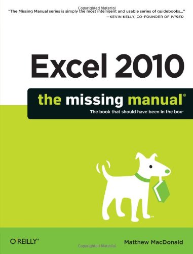 (Excel 2010: The Missing Manual)