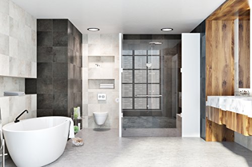 AMG and Enchante Accessories Free Standing Bathroom Spa Tower Floor Caddy, FC231-A SNI, Satin Nickel by AMG (Image #4)