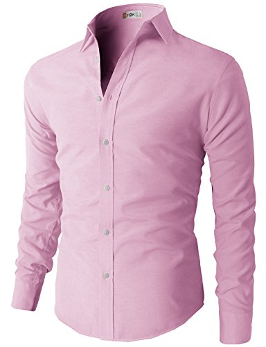 H2H Oxford Cotton Button down Sleeve