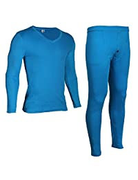 Godsen Men's Thermal Underwear Set Top & Bottom Suit