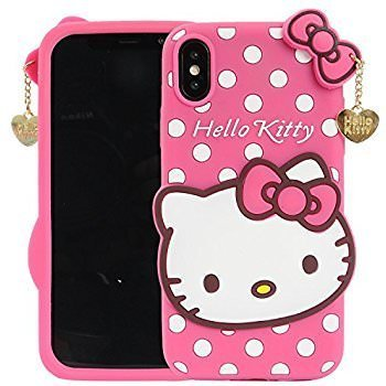 separation shoes 3467a 5ce1d Pink Kitty Back Cover Iphone x - ACCMART ® New: Amazon.in: Electronics