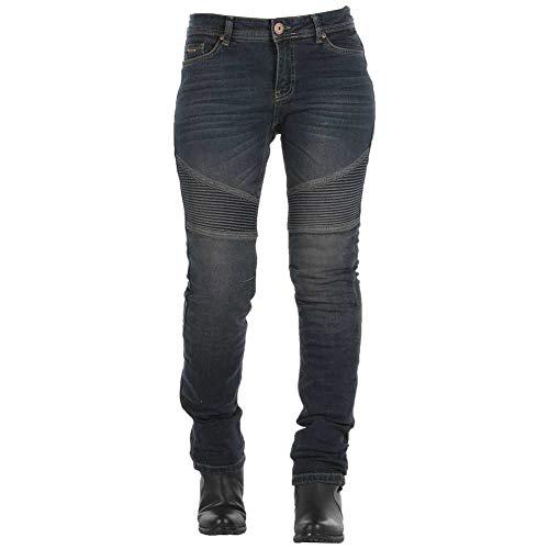 Jeans Homologados Imola azul Mujer Overlap 28 Gris Ruta Talla 5Zntqw7w