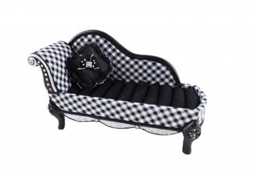 Jacki Design RETRO BLACK PLAID Chair Ring Jewelry Holder Organizer gift