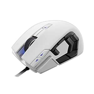 Corsair Vengeance M95 Performance MMO/RTS Laser Gaming Mouse, Arctic White (CH-9000026-NA)