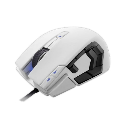 Corsair Vengeance M95 Performance MMO/RTS Laser Gaming Mouse, Arctic White (CH-9000026-NA) ()