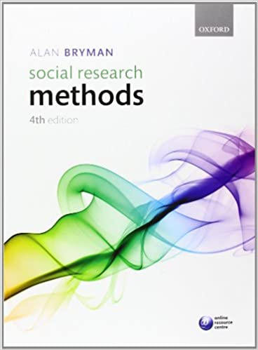 Social Research Methods 4th Edition Bryman Alan 9780199588053 Amazon Com Books