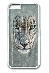 Children's Icicle Snow Leopard Custom iphone 6 plus Case Cover Polycarbonate Transparent