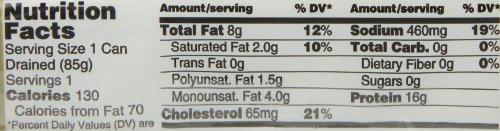 Brunswick Seasoned Smoked Kipper, 3.53-Ounce Cans (Pack of 18)