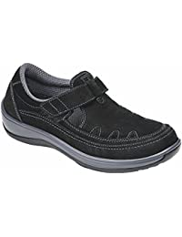 Proven Pain Relief Comfortable Orthopedic Arthritis Diabetic Serene Womens T-Strap Shoes