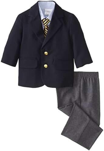Nautica Baby Boys' Blazer and Dress Pant Set with Woven Shirt