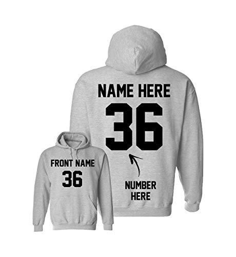 Custom Baseball Hoodies - Design Your Own Boys Sweatshirts - Personalized Hoodys