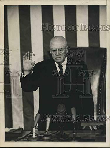 Press Photo Congressman Sam Rayburn, Speaker of US House of Representatives