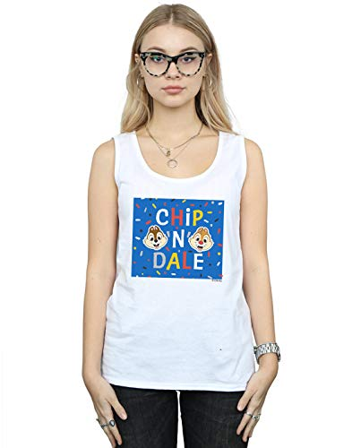 Dale Tank N Disney Top Femme Frame Blanc Blue Chip qwzwpRxWgt