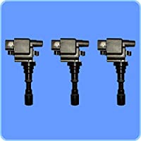 New AD Autoparts High Performance Ignition Coil Set of 3...