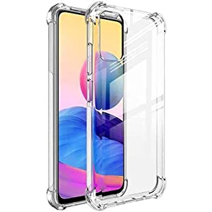 Shining Zon Soft Silicon Shockproof Camera Protective Back Cover for Poco M3 Pro Back Case – Transparent