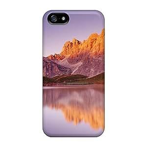 LJF phone case New Tpu Hard Case Premium Iphone 5/5s Skin Case Cover(parco Naturale Paneveggio Pale Di San Martino Trento Paneveggi)