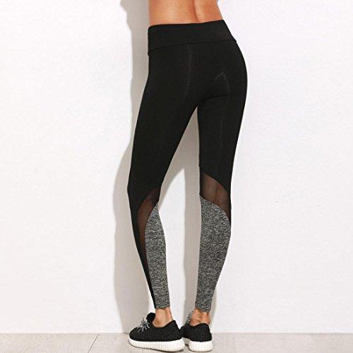 Amlaiworld Noir Leggings Fitness Running Femmes Serré De Pantalons Sport Pantalon Sports Stretch Yoga Yoga U6UHa