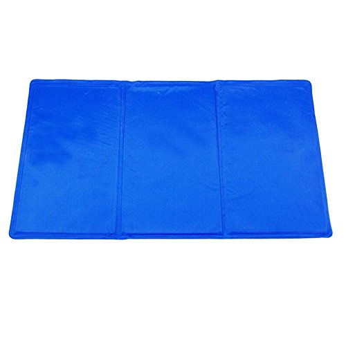 Pet Cooling Pad,Pet Dog Self Cooling Mat Pad for Kennels, Crates and Beds for Keeping Dogs Cool in Summer (XXL:20''x36'') by M-H-R