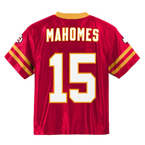 15 Home Jersey - Outerstuff Patrick Mahomes Kansas City Chiefs #15 Red Youth Player Home Jersey (Medium 10/12)