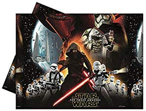 1 mantel * STAR WARS VII * para los niños y la fiesta de cumpleaños temática // Conjunto plástico Mantel niños de cumpleaños temática de La Fuerza ...