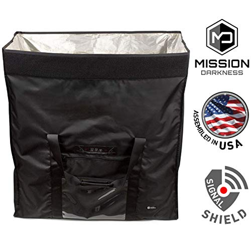 Mission Darkness Revelation EMP Shield for Generators and Extra-Large Electronics. Military-Grade Faraday Bag Designed for EMP/CME Protection, Forensic Investigators, preppers, and Personal Security by Mission Darkness (Image #6)