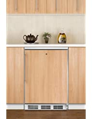 Summit FF7LBIFR Refrigerator, Brown