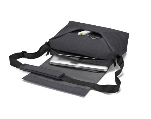 "Dicota Code Messenger 11-13 13"" Messenger case Black - notebook cases (33 cm (13""), Messenger case, Black, Polyester, Monotone, MacBook Air, MacBook Pro)"