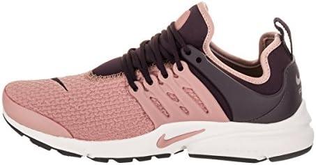 kup popularne produkty wysokiej jakości Pierwsze spojrzenie Nike Women's WMNS Air Presto, Port Wine/Particle Pink, 9.5 ...