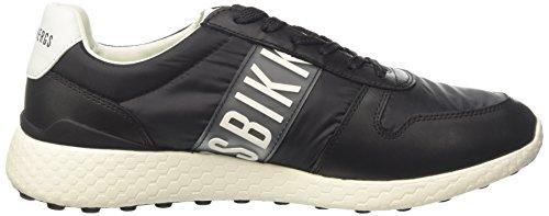 Bikkembergs Strik-ER 924, Sneaker a Collo Basso Uomo Nero