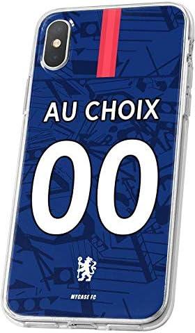 MYCASEFC Coque Equipe DE France Huawei P8 Lite 2017 Foot Personnalisable Silicone nom et num/éro