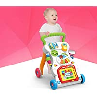 WE-BLINK Musical Walker with Music Piano, Mini Phone and Learning Case