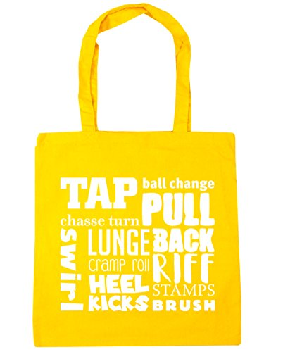 10 Tap HippoWarehouse Bag Beach Tote litres x38cm Gym Yellow Shopping meaning 42cm zzd1fqrw