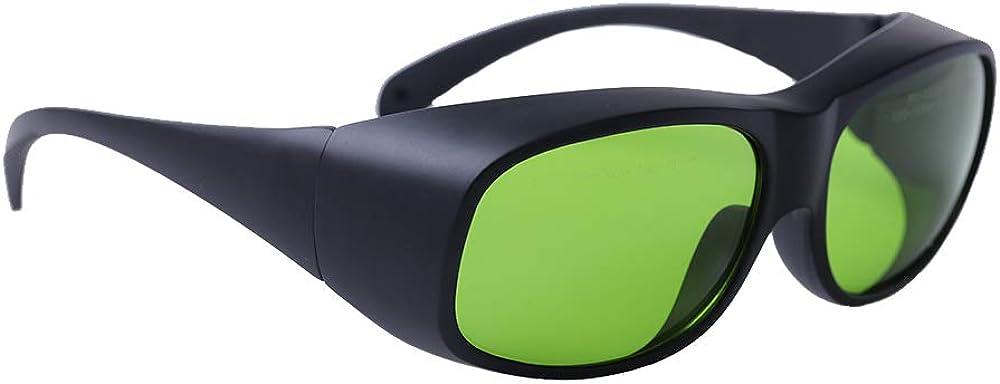 LaserPair - Gafas de seguridad láser con diodo DIN CERTCO certificado, 808 - 980nm DIR L5 &1000 - 1070nm DIR L7 para médicos y técnicos médicos láser, industria