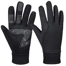Bessteven Winter Thermal Gloves Water Resistant Windproof Glove Warm and Anti-Slip for Men Women Cycling Running Driving Biking