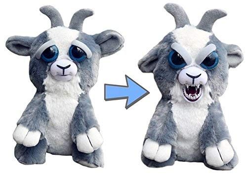 Goat Stuffed Animal (Feisty Pets Junkyard Jeff Adorable Plush Stuffed Goat That Turns Feisty with a)