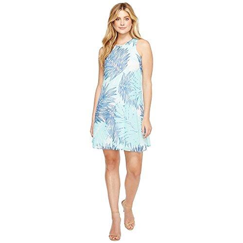 処分したフィットネスランチ(カルバンクライン) Calvin Klein レディース トップス ワンピース Printed Trapeze Dress 並行輸入品