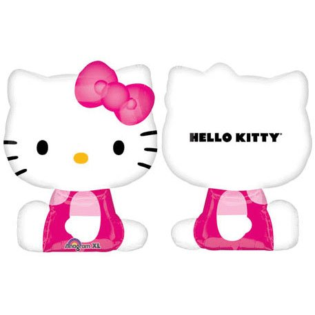 Hello Kitty Mylar Balloon Party Decoration Super Shape 27 Inch for $<!--$3.98-->