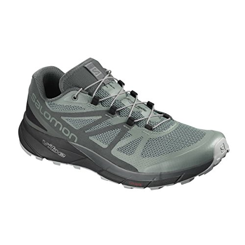 Salomon Sense Ride GTX – Scarpe Trail Uomo, L40612100, Balsam Green/Urban Chic/Monument, 40 Balsam Green / Urban Chic / Monument