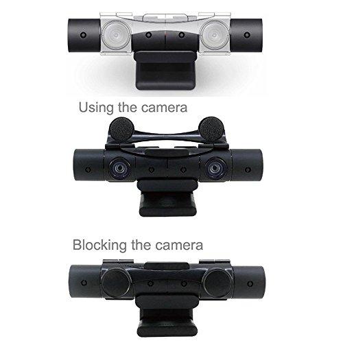 Stand A/v Sony (DOBE PS4 Camera V2.0 Lens Cover Sensor protector Mount Clip Holder for Sony Playstation NEW Camera V2.0 Sensor)