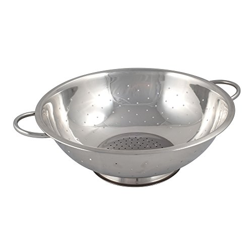 Browne 13 qt Stainless Steel Footed - Steel Colanders Stainless 13 Qt