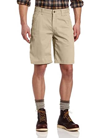 Carhartt Men's Washed Twill Dungaree Short Relaxed Fit,Field Khaki,29