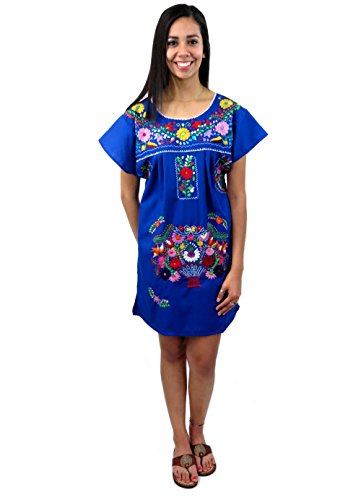 Leos Imports TM Mexican Dress Puebla Short