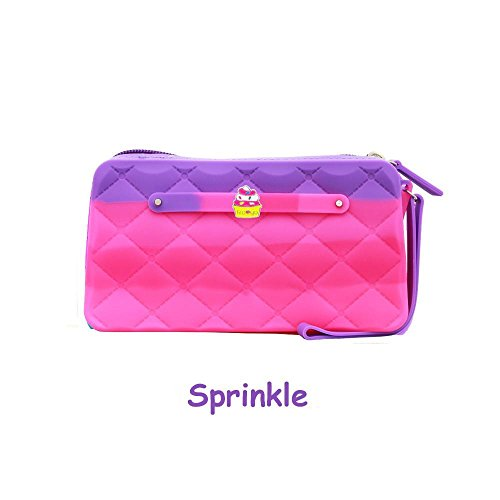 - Yummy Gummy - Bubble Gum  Scented Silicone Purse - Sprinkles Style