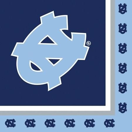 Univ of North Carolina 2 Ply Lunch Napkins 240 Ct by NCAA
