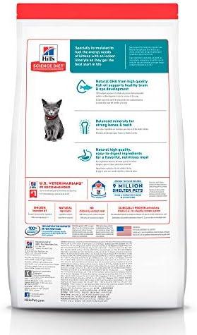Hill's Science Diet, Alimento para Gatito (Kitten) Indoor, Seco 3