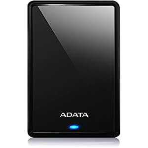 ADATA HV620S 2TB External Hard Drive Slim and Light with USB 3.1 (Black)