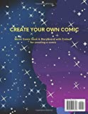 Blank Comic Book: How to plan and create a comic